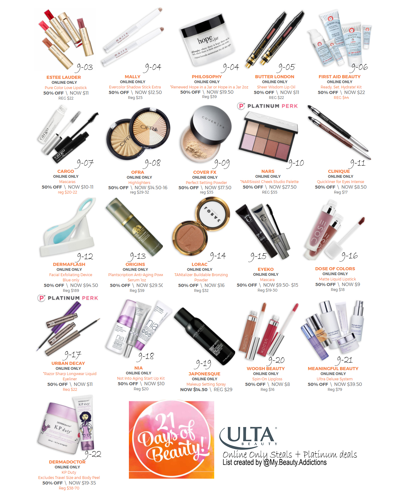 Online Only Ulta Steals by MyBeautyAddictions