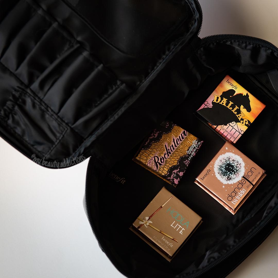 Benefit makeup bag / travel case