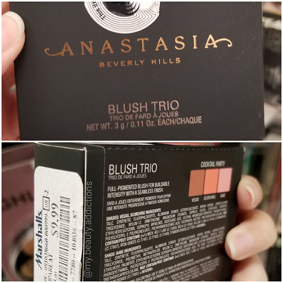 ABH Blush Trio Sale Marshalls