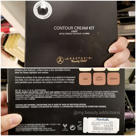 ABH Contour Cream Kit Cheap Marshalls