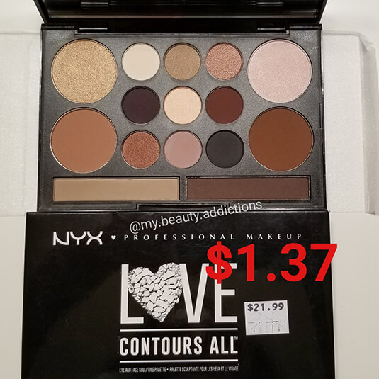 NYX Love Contours All