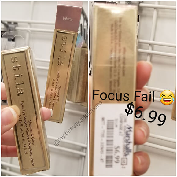 Stila Shimmer and Glow Liquid Eyeshadow Cheap Marshalls