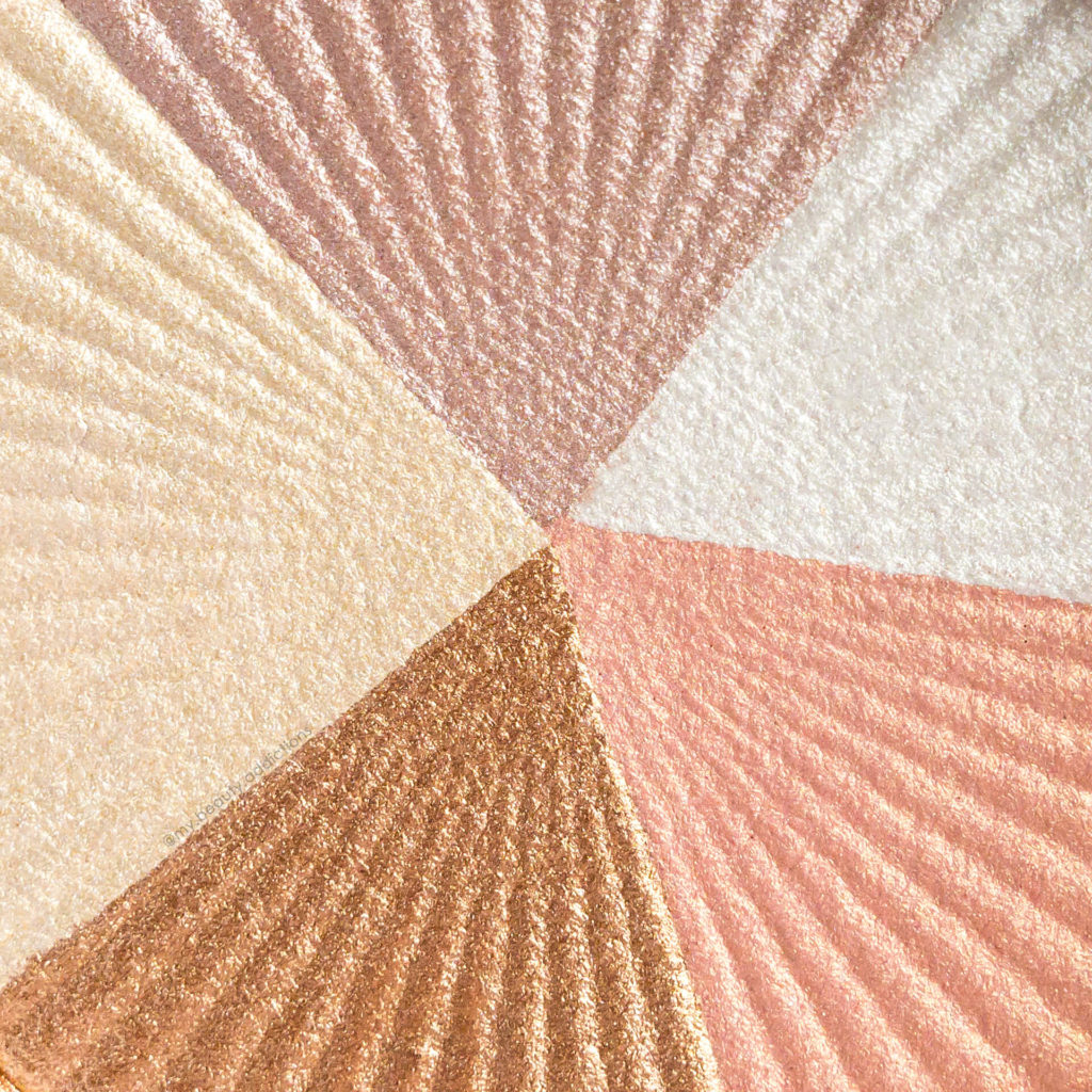 OFRA Beverly Hills highlighter closeup