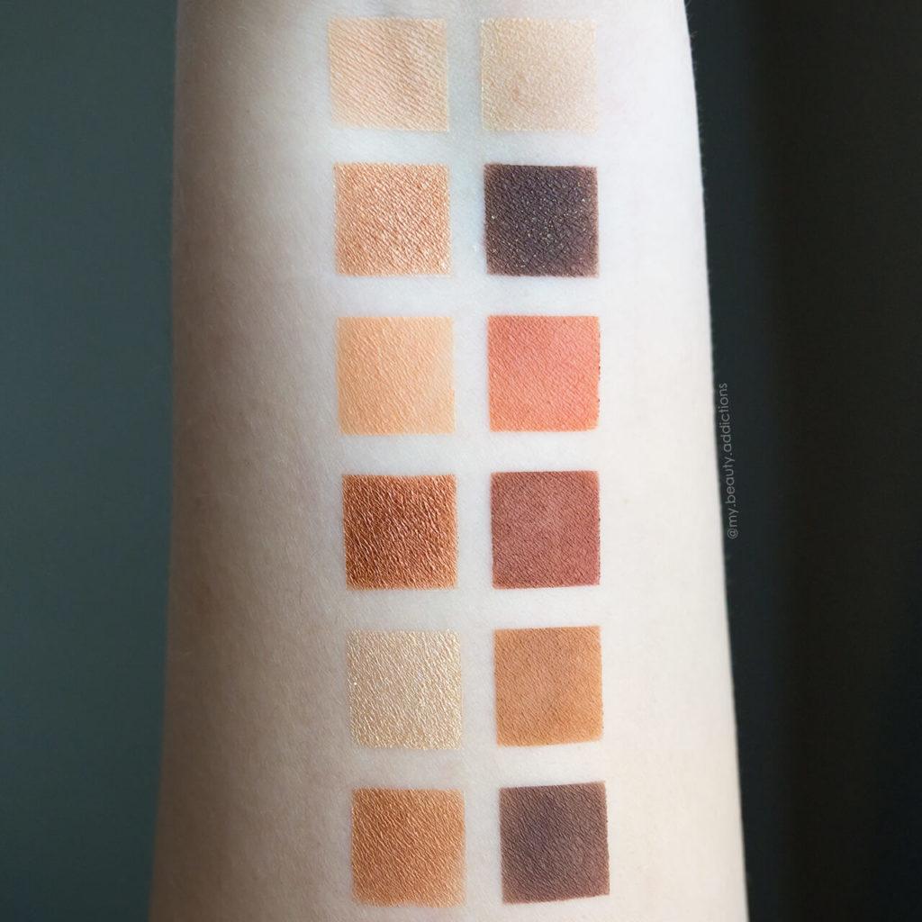 Tarte Tartelette Toasted Palette Swatches