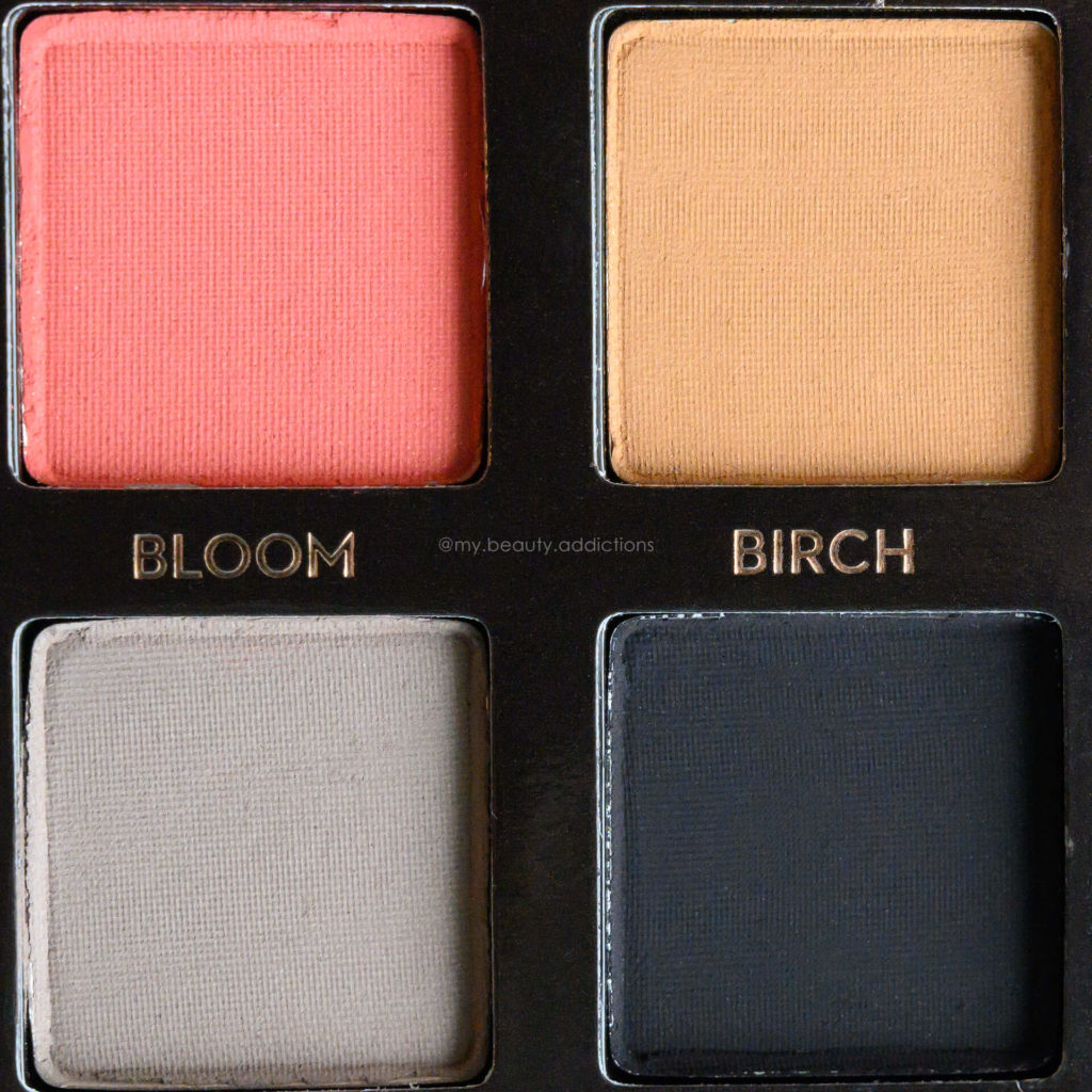 ABH SULTRY CLOSEUP SWATCHES