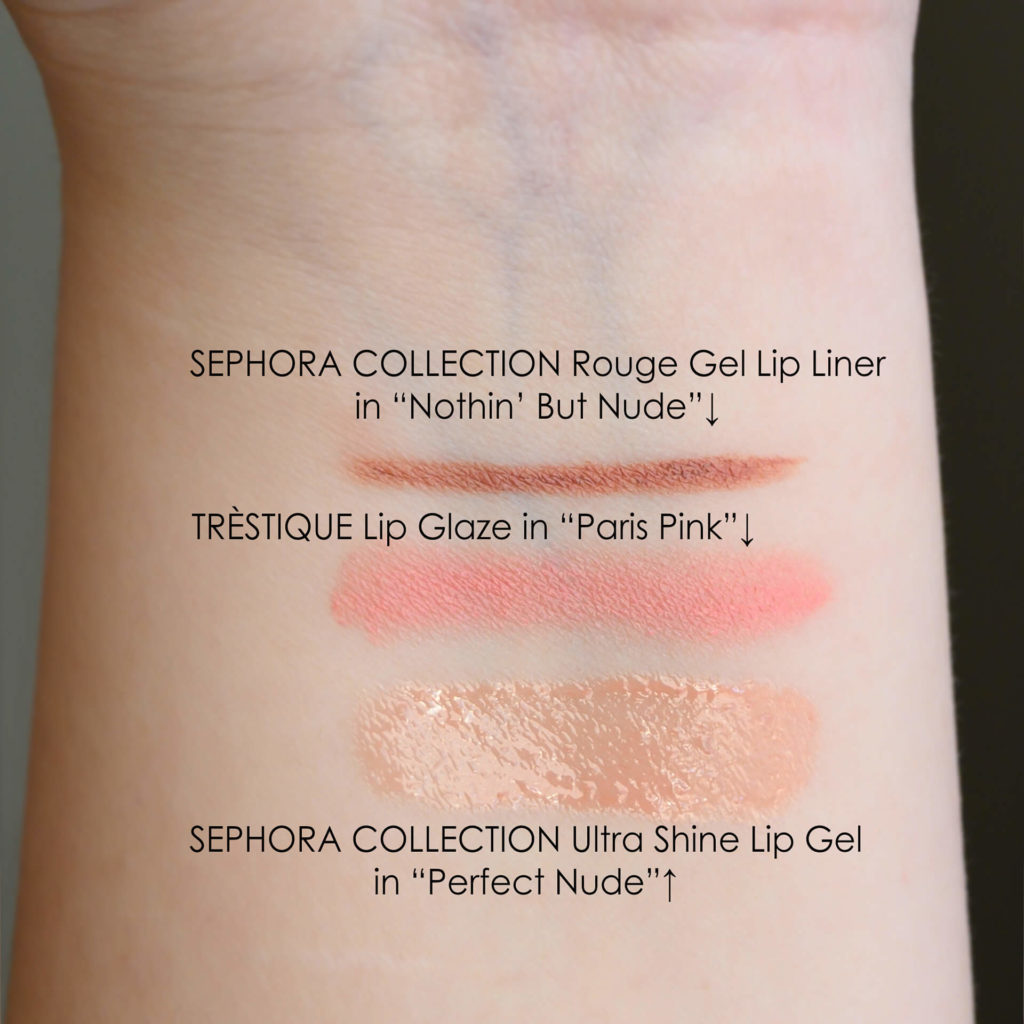 Swatches Trestique Paris Pink, Sephora