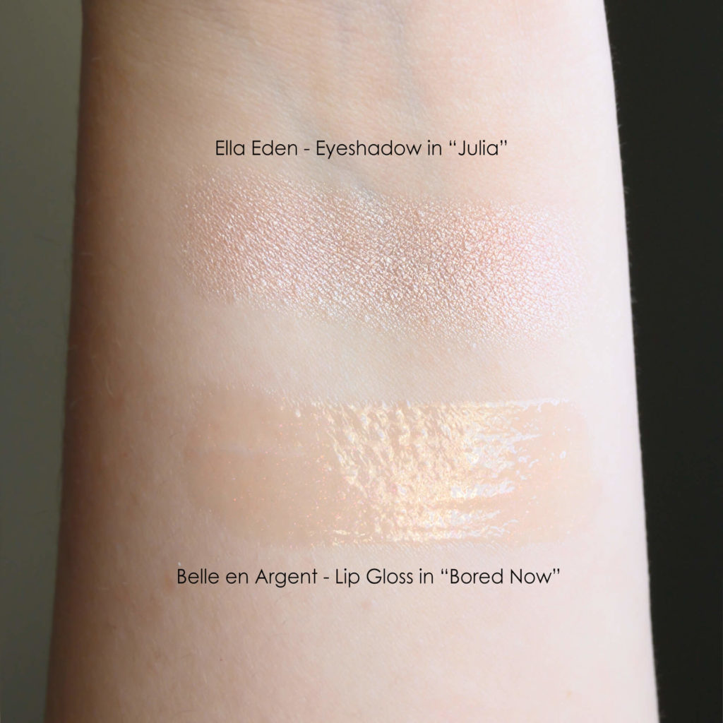 Ella Eden Julia swatch, Belle En Argent Bored Now swatch