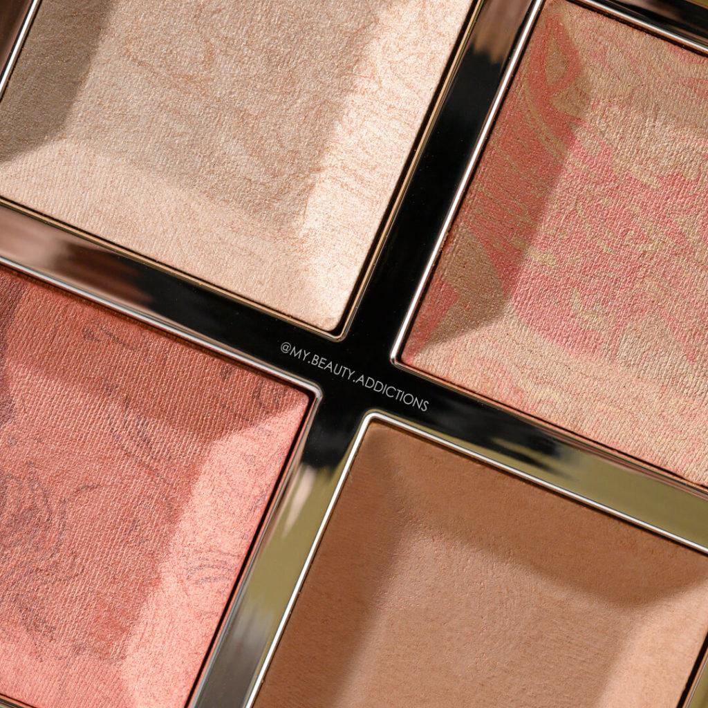 Becca x Khloe Face Palette Closeup