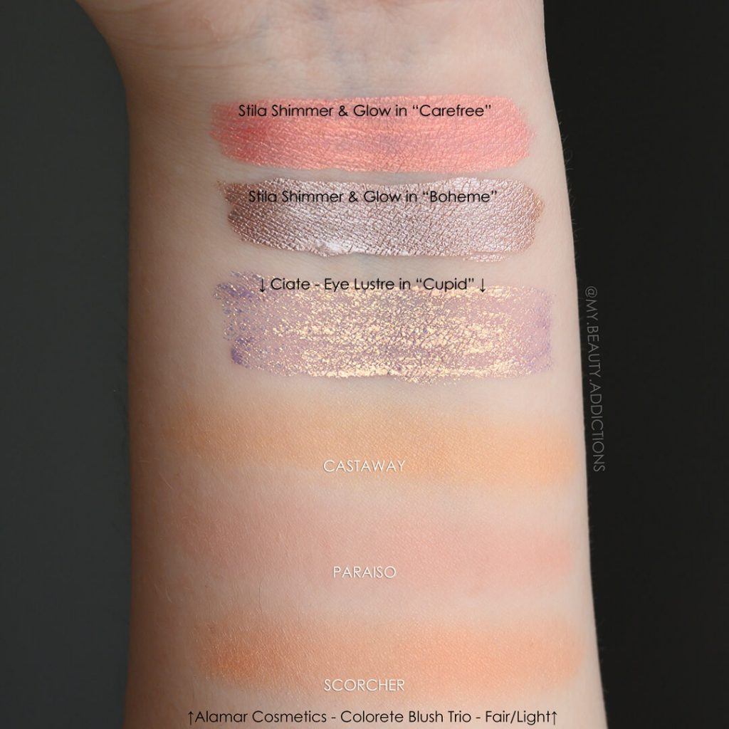 Boxycharm May 2019 Swatches