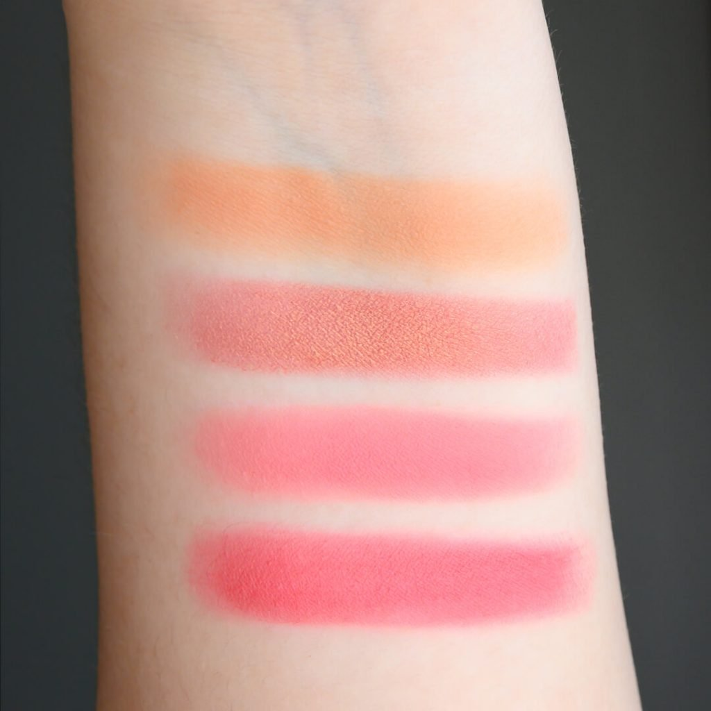 Zoeva Coral Spectrum Swatches